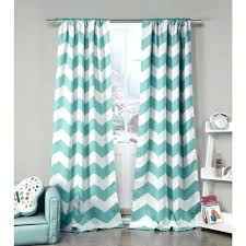 Green Chevron Shower Curtain Seafoam Green Curtains Teawing Co