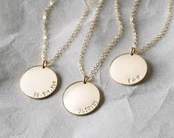 Personalized Photo Jewelry Bar Necklaces Gold Dainty Necklace Personalized By Layeredandlong