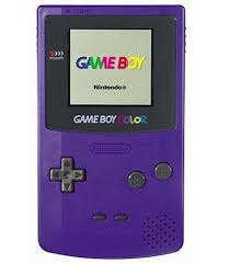 Grape Game Boy Color System In Great Condition Gameboy Color