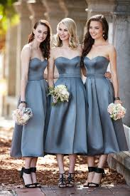 midi length satin bridesmaid dress satin dresses fashion