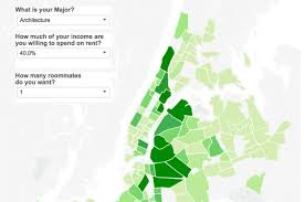 entry level jobs journalism nyc maps map where can new college graduates afford an apartment in new