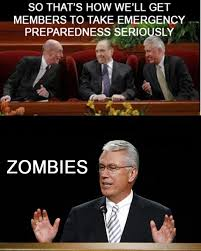 Lds Conference Memes - keep calm and zombies general conference week nathaniel s universe