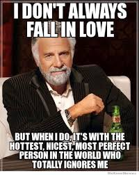 Meme For Love - i don t always fall in love weknowmemes