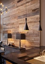 mur deco pierre décoration en bois comment réchauffer l u0027intérieur en hiver