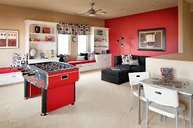 Game Room Storage Ideas Kids Contemporary With Wall Sconces Dark - Family room storage cabinets