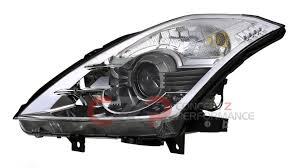 nissan 350z tail lights nissan infiniti nissan oem 26060 cf40b bi xenon headlight lh