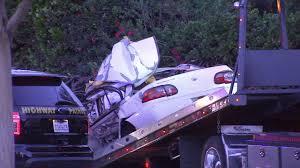 2 killed 1 injured in possible street racing crash in la puente