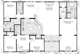 5 bedroom 3 bath floor plans 5 bedroom 3 bath modular home floor plans glif org