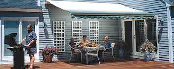 Hand Crank Retractable Awnings Sunsetter Retractable Awning Model Options