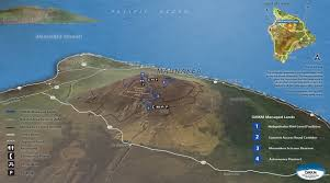 Map Of Hawaii Big Island Romantic Star Gazing On The Big Island Aloha Dreams