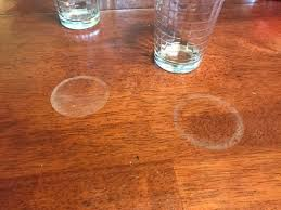 how to remove white heat spots from wood furniture how to remove white circles from wood furniture cookware news