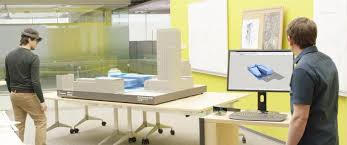 Model Building Desk Design Revolution Microsoft Hololens And Mixed Reality Are