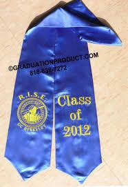 custom graduation stoles rise academy graduation stoles sashes as low as 8 99 high