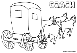 95 ideas horse wagon coloring pages emergingartspdx