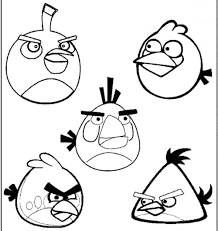 blue angry bird coloring creativemove