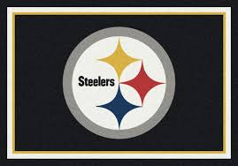 Football Area Rugs by Milliken Area Rugs Nfl Spirit Rugs 00974 Pittsburgh Steelers