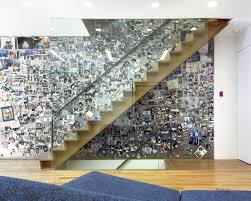 Staircase Wall Ideas Supersized Large Steel Magnet Board Staircase Eclectic With Photo