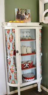 curio cabinet chalk painted curio cabinet start at home decor