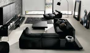 black living room furniture to create your own style home