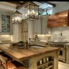 reclaimed barn wood kitchen island with wooden top 289 best cabin kitchen ideas images on pinterest home ideas