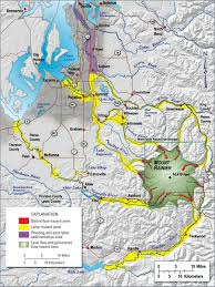Map Of Washington State Cities by Mount Rainier One Of Our Nation U0027s Most Dangerous Volcanoes