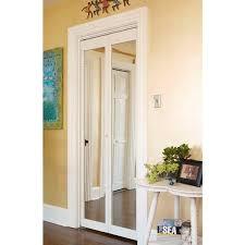 Pine Bifold Closet Doors 907 Traditional 24 Inch Wide Unfinished Pine Bifold Mirror