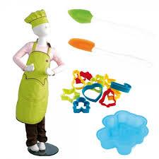 enfant cuisine kit cuisine enfant toque tablier 10 emporte pièce spatule