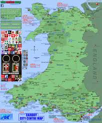 Map Of Wales And England by Interactive Map Of Wales