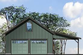 Workshop Garage Plans Country House Plans Garage W Shop 20 154 Associated Designs