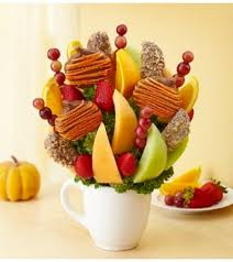 fruit bouquet delivery autumn cheer fruit bouquet park il florist