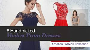 8 handpicked modest prom dresses amazon fashion collection youtube