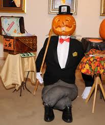 Monopoly Man Halloween Costume Park West Gallery U0027s Office Pumpkin Carving Contest