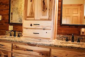 Kitchens With Hickory Cabinets Handmade Hickory Cabinets And Cambria Bradshaw Countertops Love