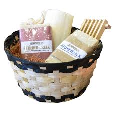 spa gift sets handmade men s spa gift basket bath set goat s milk soap bars