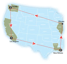 Amtrak Map Schedule by Sunset Limited Amtrak Vacations