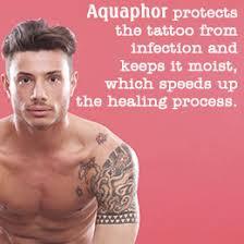 is aquaphor helpful in a tattoo healing process