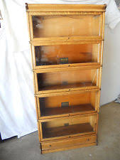 Oak Bookcases With Drawers Lawyer Bookcase Ebay