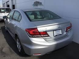 used 2014 honda civic sedan lx silver for sale in medford or
