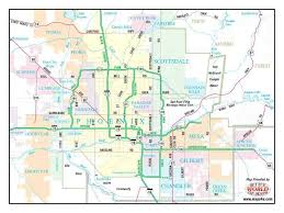 az city map arizona cities valley map