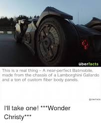 lamborghini gallardo facts uber facts this is a thing a near batmobile made from