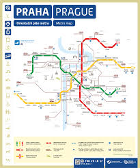 Dc Metro Rail Map by Prague Metro