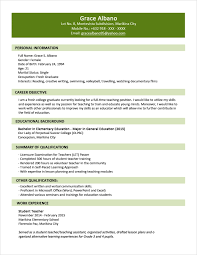 Free Pages Resume Templates Single Page Resume Template Find Answers Here For One Page Resume