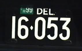 Ct Vanity License Plate Lookup Delaware License Plates Aaroads