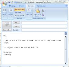 set up auto replies in ms outlook to emulate out of office behavior
