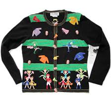 band sweaters b football marching band tacky sweater