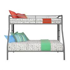 Cymax Bunk Beds Metal Junior Metal Loft Bed In Silver 5458096