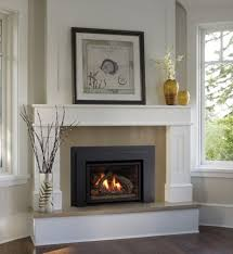 gas insert fireplace mantels surrounds white corner fireplace