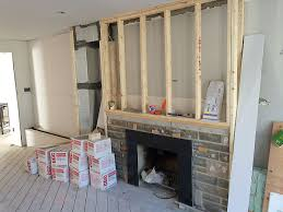 concrete fireplace renovation toronto anthony concrete design