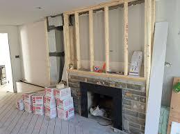 concrete fireplace renovation toronto anthony concrete design