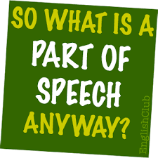 parts of speech englishclub